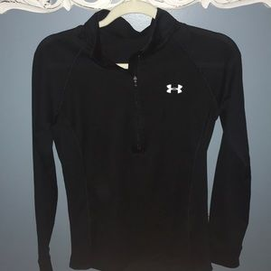 Under Armour black quarter zip
